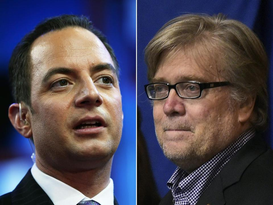Republican National Committee chairman Reince Priebus, who worked closesly with Donald Trump's campaign, used a pair of interviews Monday to defend Trump campaign chairman Steve Bannon, who formerly headed up Breitbart News.