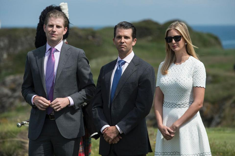 The president's children have spent their lives as his underlings in his various business enterprises.
