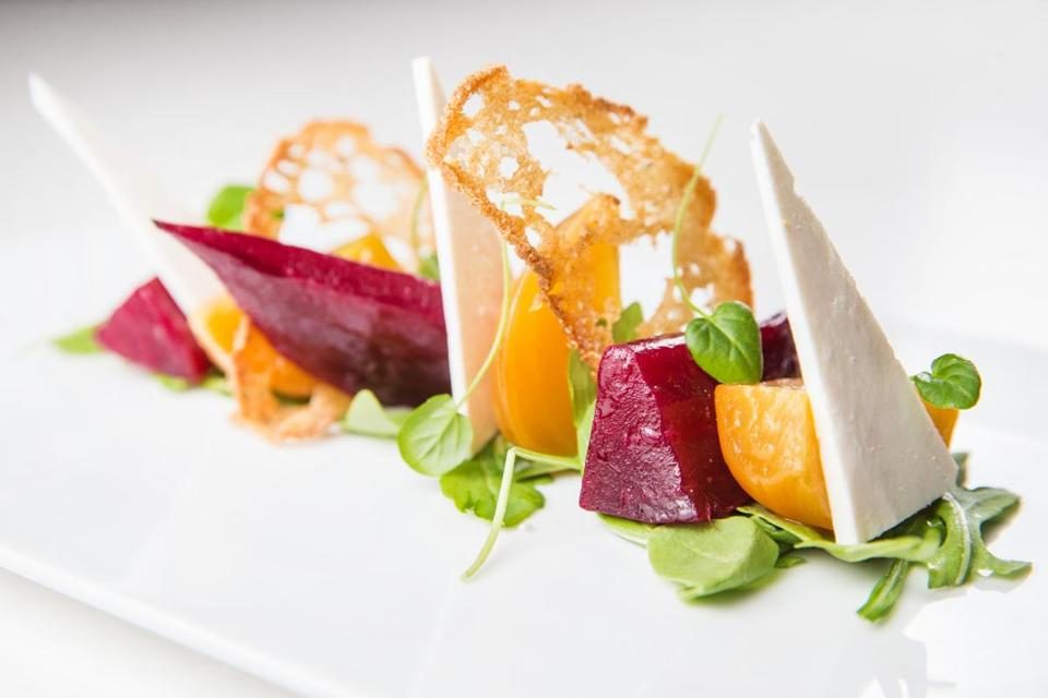 11/17/2016 BOSTON, MA Beet salad at Il Molo in Boston. (Aram Boghosian for The Boston Globe)