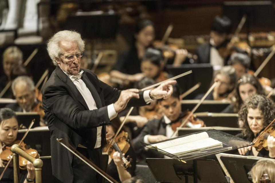 Benjamin Zander (pictured in 2016) led the Boston Philharmonic Orchestra in its first program of 2017 at Jordan Hall.