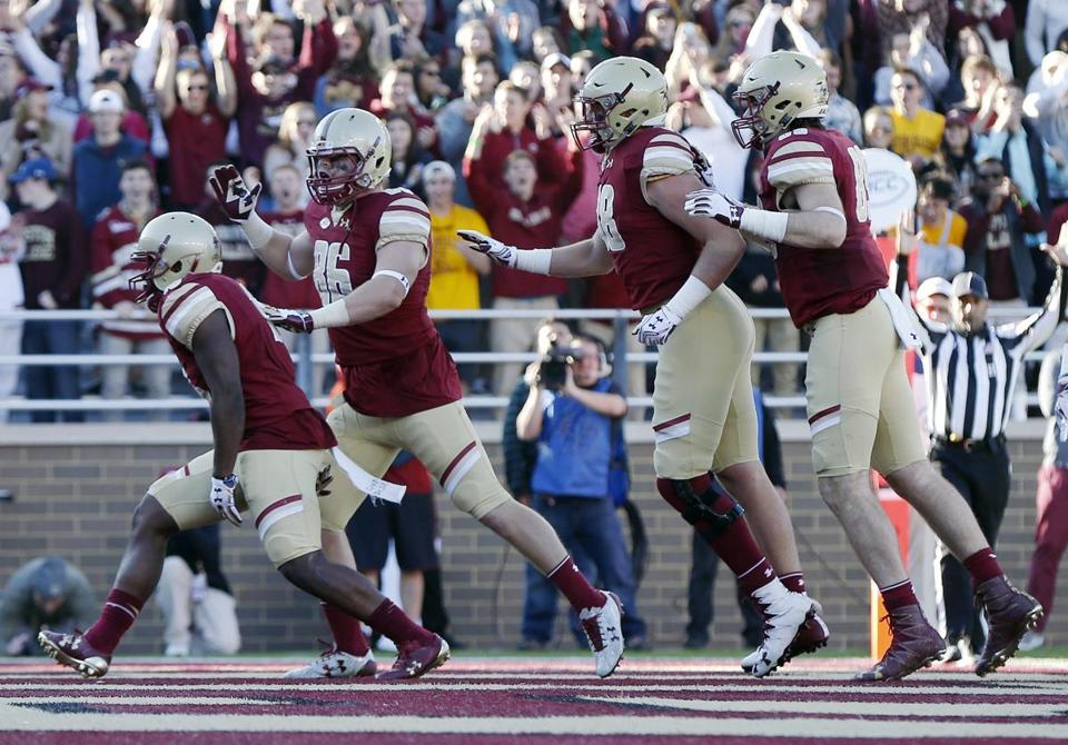 BC shuts out UConn 30-0