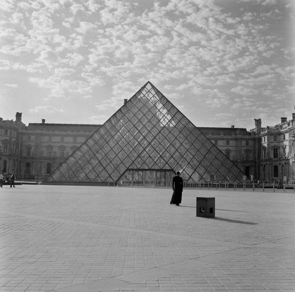 "Carrie Mae Weems's ""The Louvre,"" at Ethelbert Cooper Gallery."