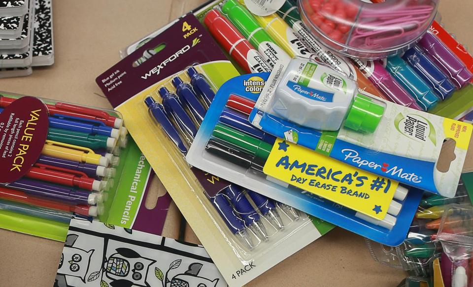 Some teachers are turning to crowdfunding so they can buy students school supplies.