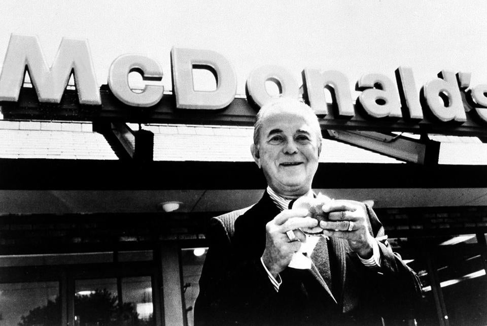 Essay/Term paper: Ray kroc