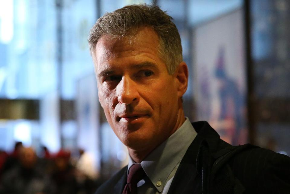 Former Massachusetts Senator Scott Brown.