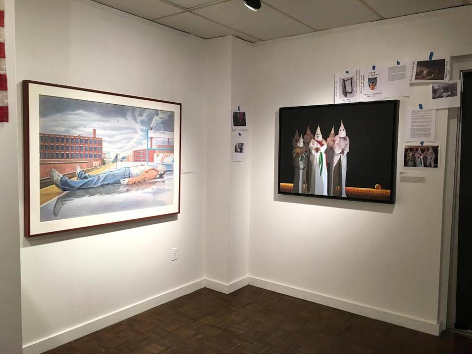 An exhibit at Salem State University has been reopened after some modification.