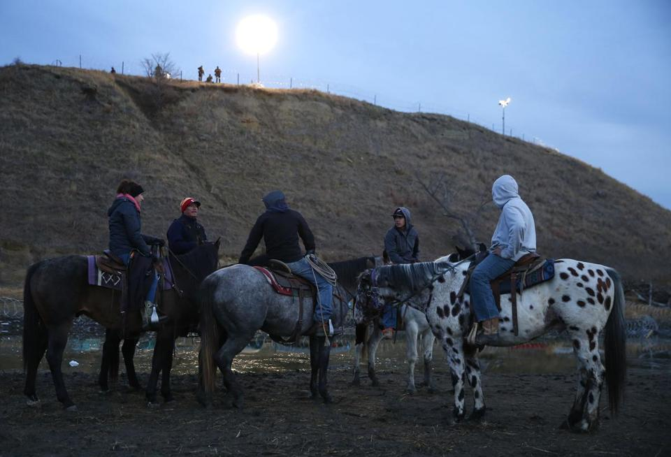 StandingRock123 001 at standing rock, devotion and despair overcome pipeline protesters