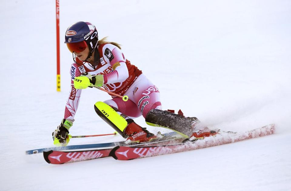 American Mikaela Shiffrin won the World Cup women's slalom on Sunday at Killington.