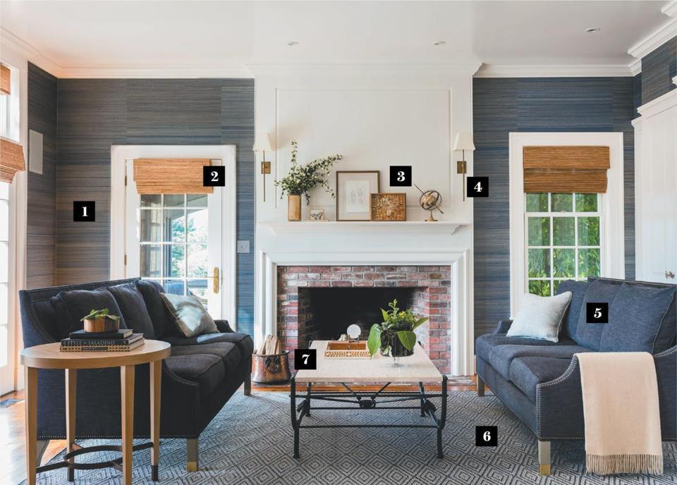 Designing An Easy Elegant Family Room For Empty Nesters