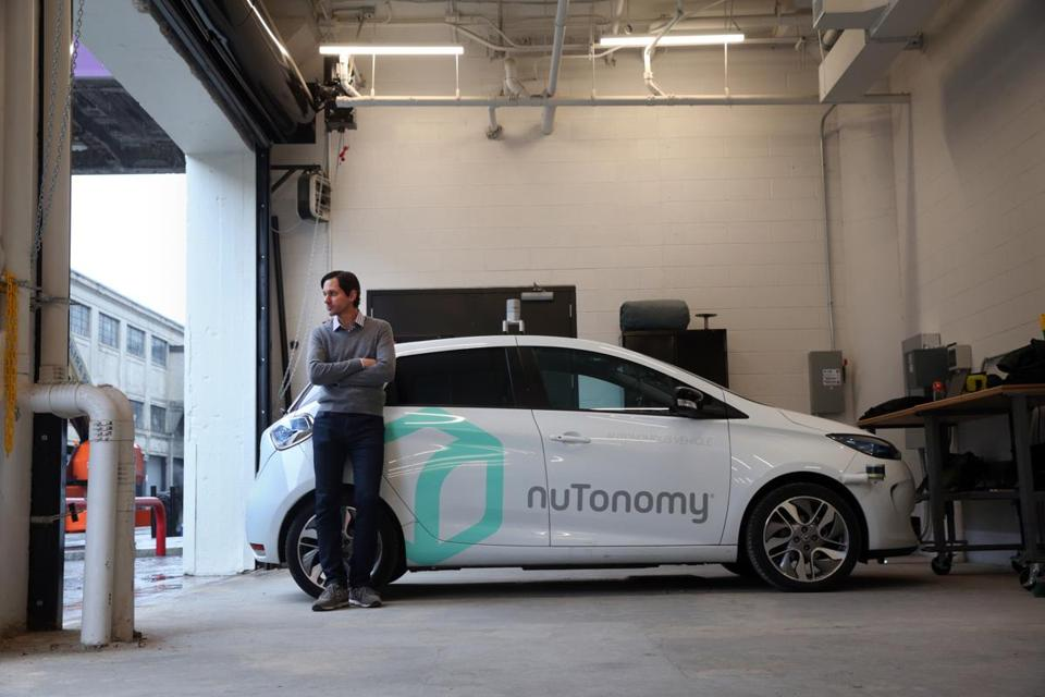 Boston Ma November 29 2016 Karl Iagnemma Co Founder Of Nutonomy