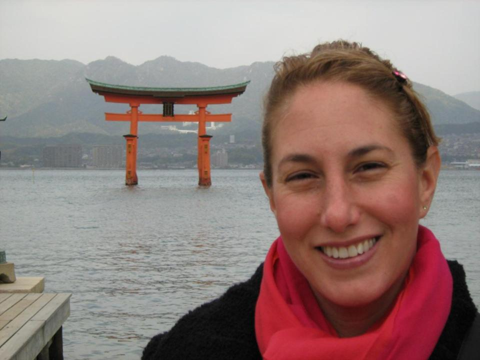 Tracy Slater, married to a Japanese grad student she met at BU, lives in the suburbs of Tokyo.