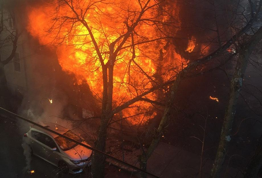 The fire rapidly moved through an East Cambridge neighborhood. The blaze displaced 150 people.