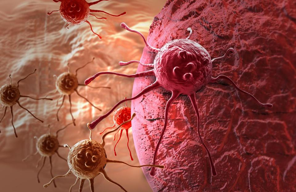 cancer cell made in 3d software; Shutterstock ID 141299494; PO: oped