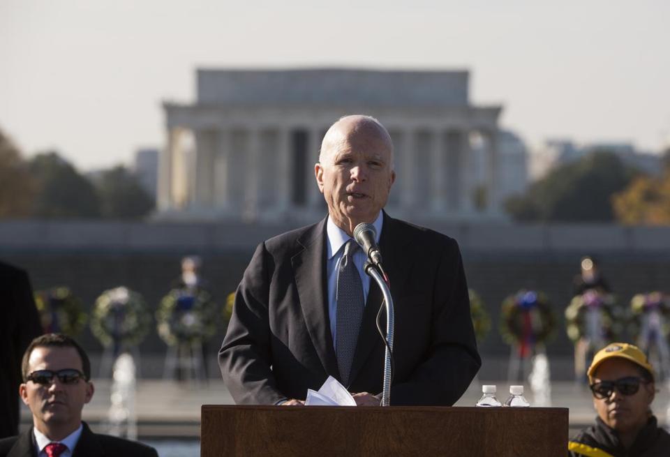 John McCain, it's time