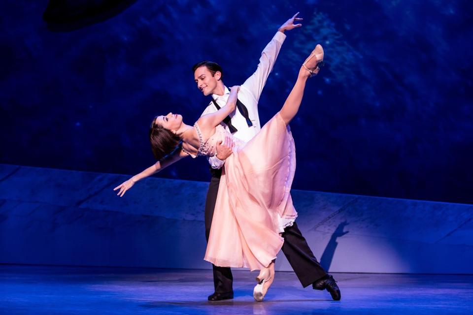 "The national touring production of ""An American in Paris."""