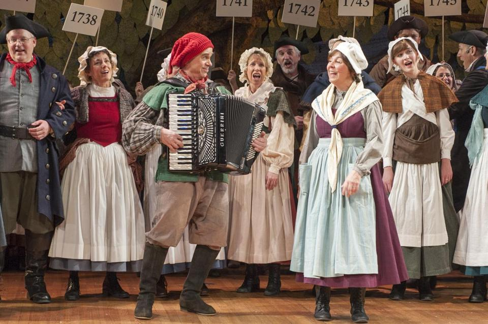 """""""The Christmas Revels: An Acadian-Cajun Celebration of the Winter Solstice"""" follows the Acadian people from Canada to Louisiana."""