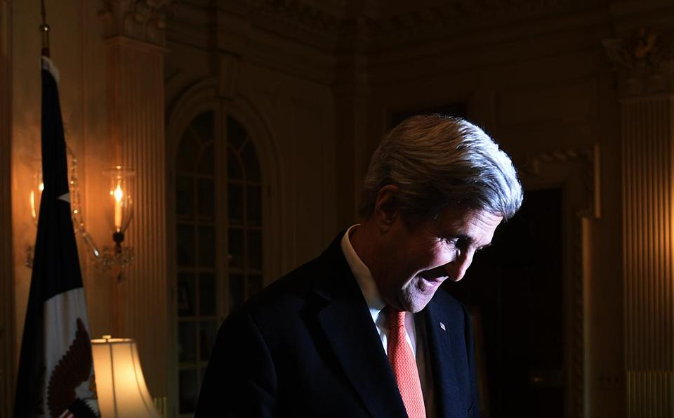 Secretary of State John Kerry will step down next month from the post he has held since 2013.