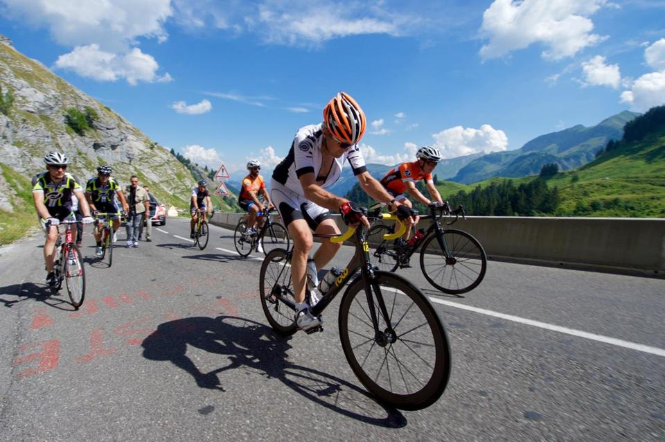 Secretary of State John Kerry climbed the Col de la Colombiere, a mountain pass in the French Alps earlier this year.