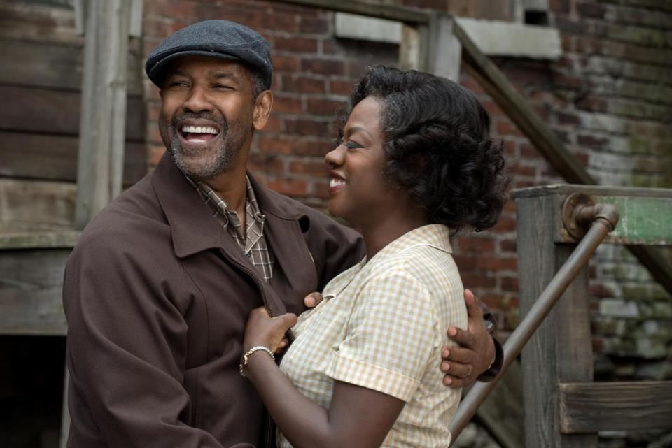 "Denzel Washington directs and stars opposite Viola Davis in ""Fences,"" a film adaptation of the award-winning play by August Wilson."