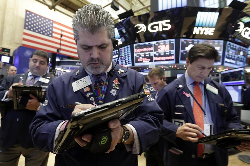 The Dow Jones industrial average has jumped more than 8 percent since Nov. 8, driven largely by financial companies, and for the first time is within reach of the 20,000 mark.