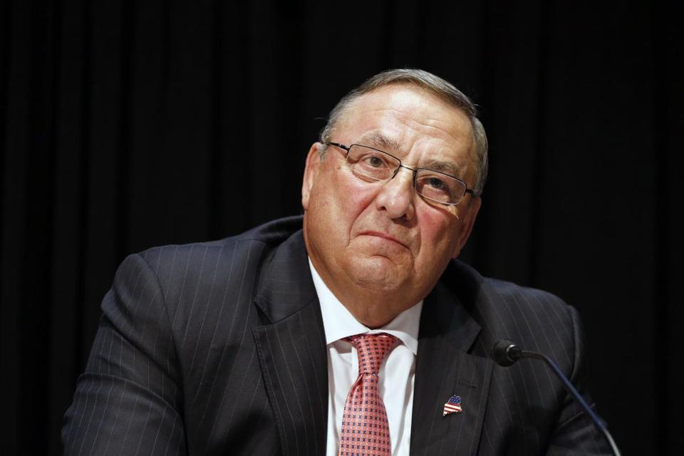 Maine Governor Paul LePage.