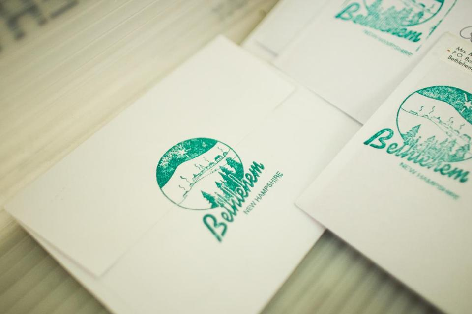 Christmas cards get holy touch with Bethlehem postmark - The Boston ...