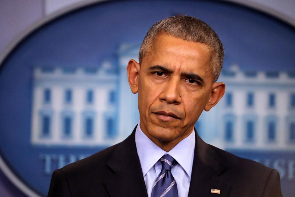 President Barack Obama holds a press conference on Dec. 16 in Washington.