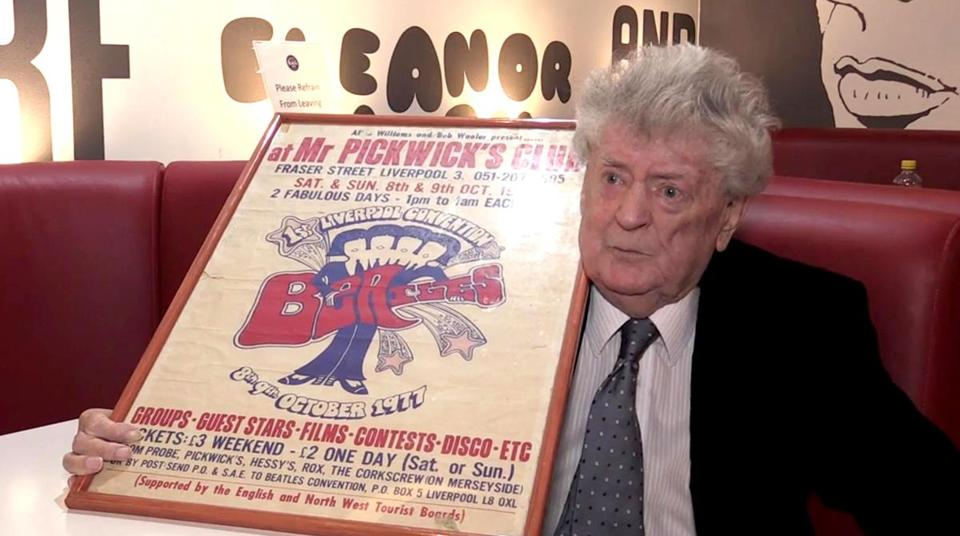 Allan Williams also played a role in the Beatles' early history as the owner of the iconic Jacaranda pub in Liverpool.