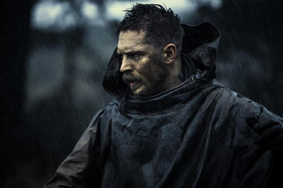 """Taboo"" stars Tom Hardy as a man who was presumed dead before appearing at his father's funeral."