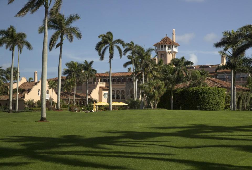 The Mar-a-Lago resort, President-elect Donald Trump's future winter White House, in Palm Beach, Fla.