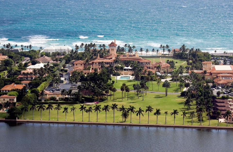 Mar-a-Lago Club, Palm Beach, Florida, in 2007.