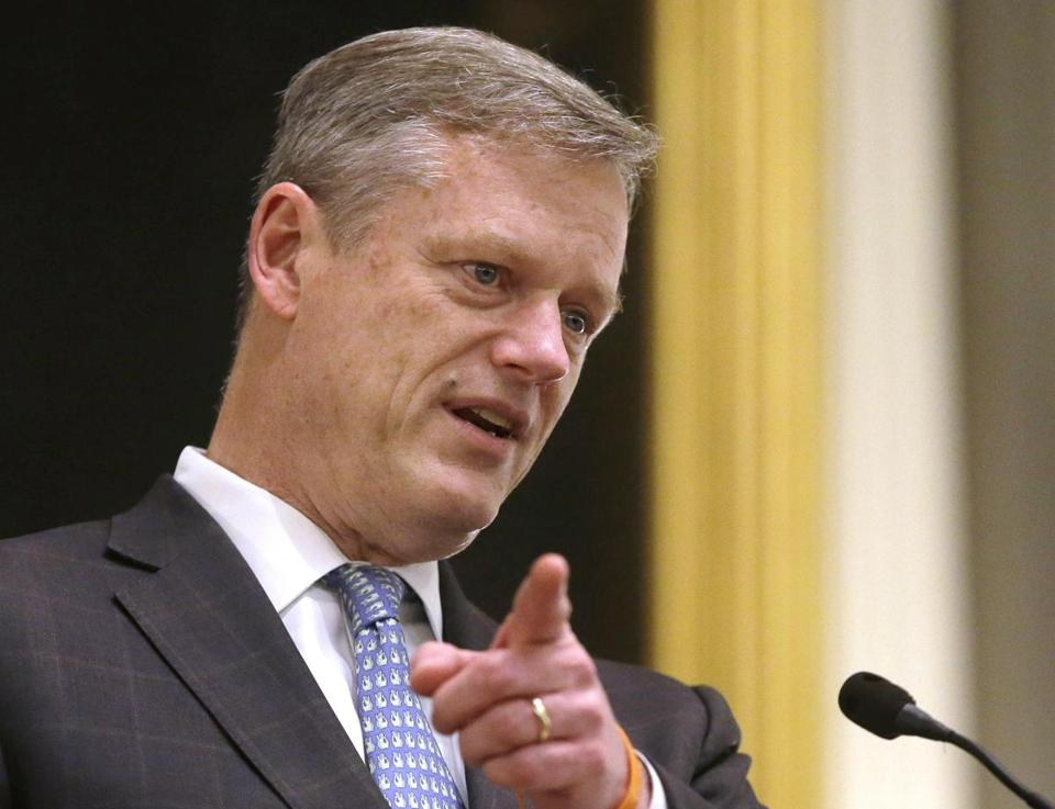 Governor Charlie Baker will propose that a small chunk of state tax revenue be socked away each year in the savings account.