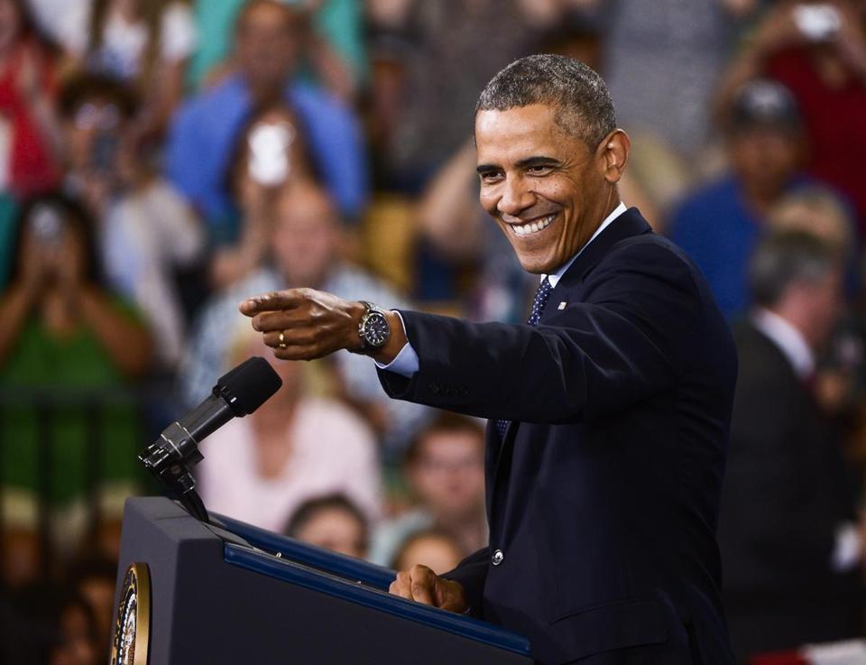 obama talk tonight time