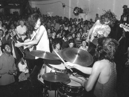 Led Zeppelin played the Boston Tea Party.