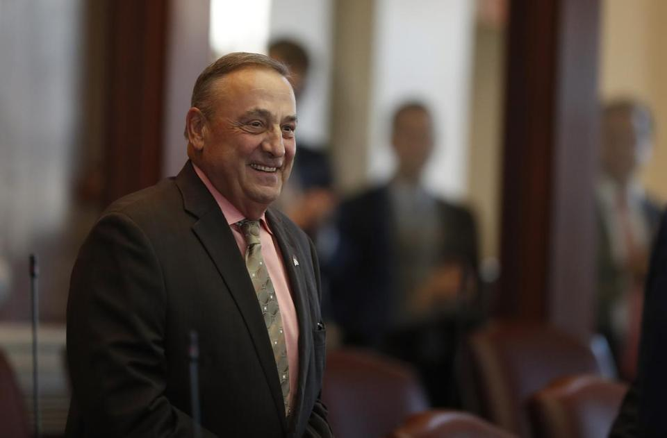 Maine Governor Paul LePage on Dec. 19, nearly two months after his weight loss surgery.