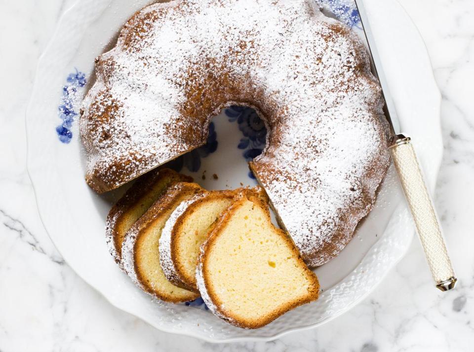 Recipe For Cheesecake Pound Cake The Boston Globe