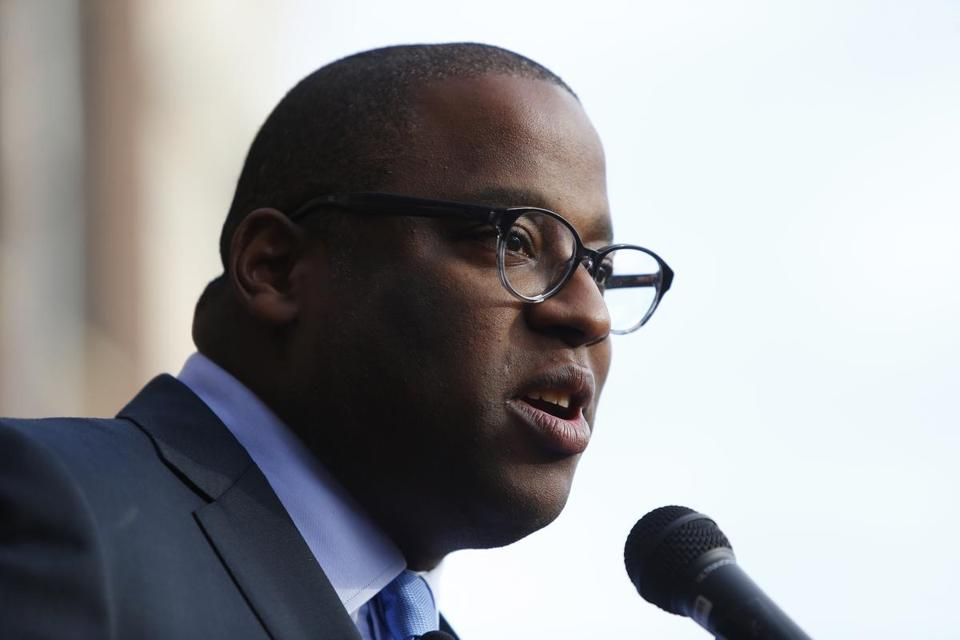 Tito Jackson proposed a legal defense fund for immigrants in Boston at Wednesday's City Council meeting. Jackson announced his bid for mayor last month.
