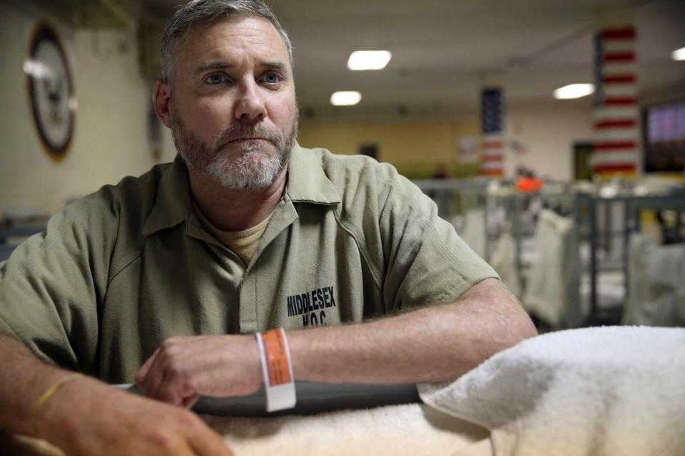 """There's a plan for when you leave, something waiting for you,"" said inmate Kevin Faherty, an Army veteran."