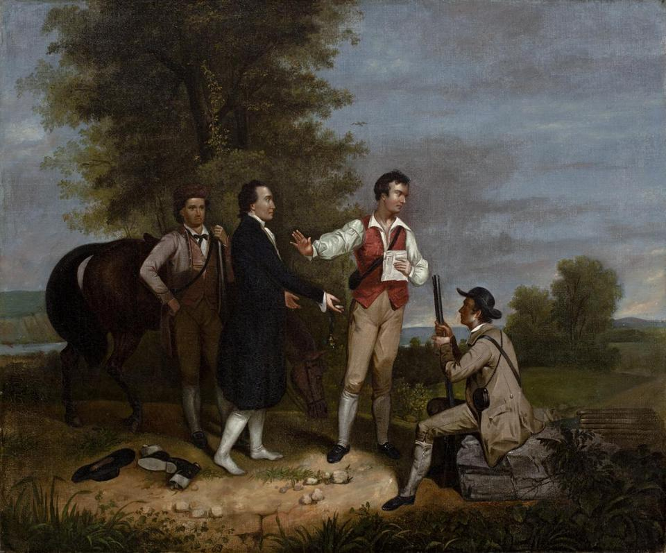 "A grant from the Henry Luce Foundation will support the Worcester Art Museum's collection of pre-contemporary American art, which includes Asher B. Durand's ""Capture of Major Andre."""