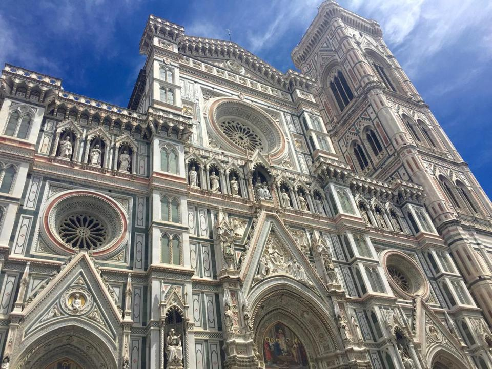 The stunning Dome of Florence Cathedral is the main church of Florence.
