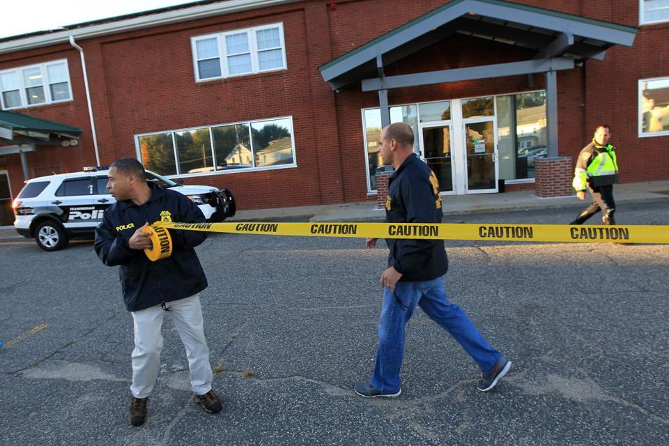 Federal agents entered the New England Compounding Center.