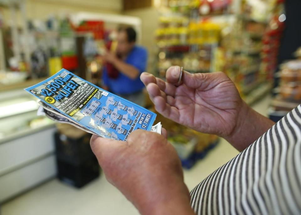 Lottery revenue has dropped by 16 percent between 2008 and 2015, accounting for inflation. In an increasingly cashless society, officials say, fewer people are likely to have money on hand to buy lottery tickets at convenience and liquor stores.