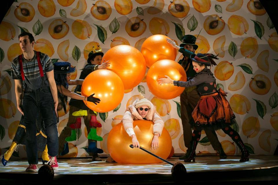 "The ART Institute at Harvard University recently presented a production of ""James and the Giant Peach."""
