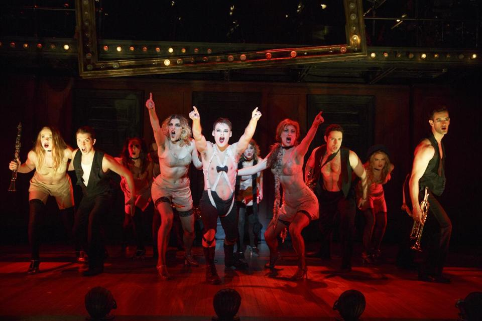 Cabaret Delivers A Timely Jolt The Boston Globe