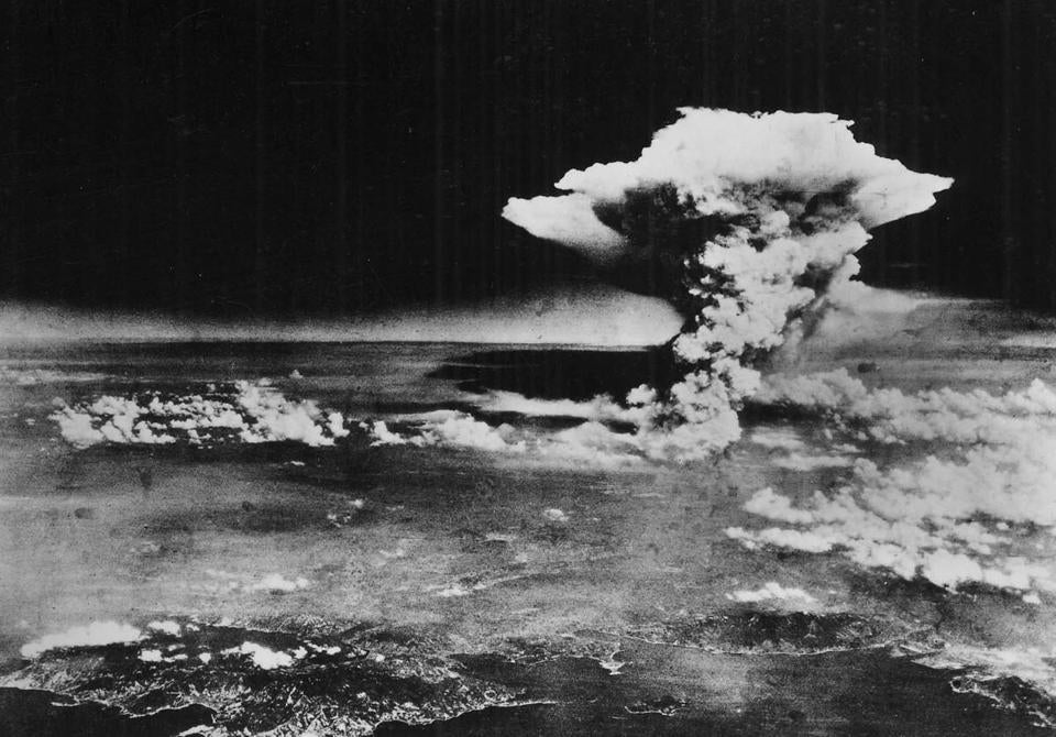 "FILE - In this Monday, Aug. 6, 1945 picture made available by the U.S. Army via the Hiroshima Peace Memorial Museum, a mushroom cloud billows into the sky about one hour after an atomic bomb was detonated above Hiroshima, Japan. A movement is growing worldwide to abolish nuclear weapons, encouraged by President Barack Obama's endorsement of that goal. But ""realists"" argue that more stability and peace must first be achieved in the world. (AP Photo/U.S. Army via Hiroshima Peace Memorial Museum) NO SALES; MANDATORY CREDIT Library Tag 08172010 G section"