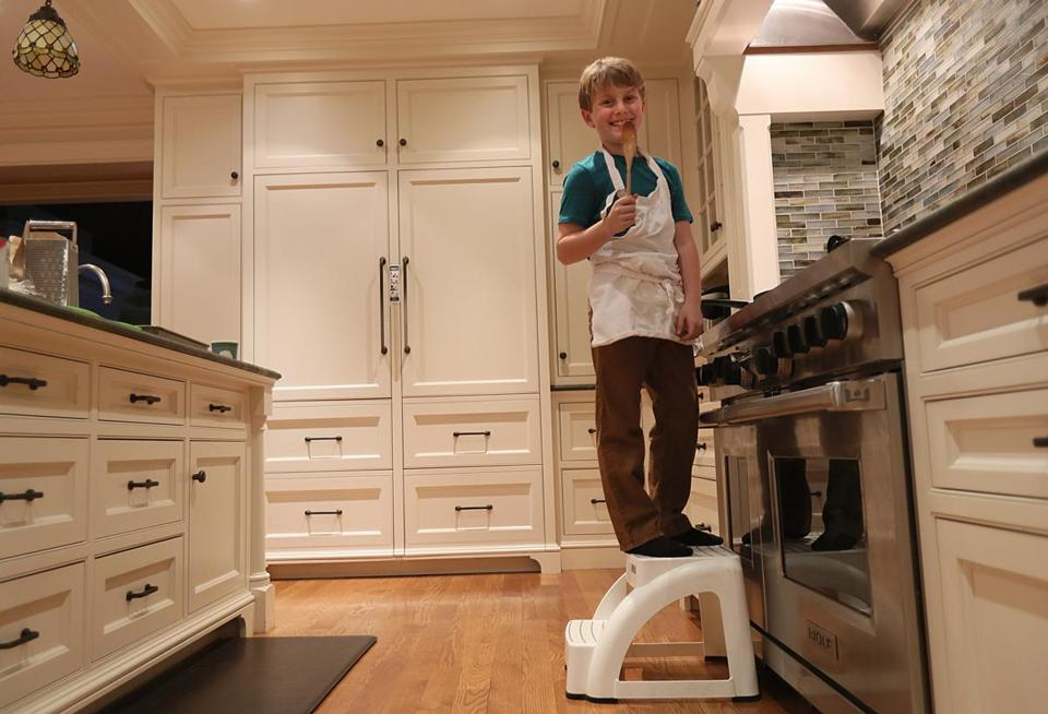 "Sam Brock, who learned to cook with his father, will be one of 40 contestants on Fox's ""MasterChef Junior,"" starting Feb. 9."