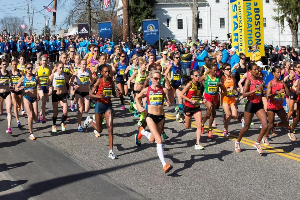 """Boston'' traces the marathon's history from its origins in 1897 through 2014."