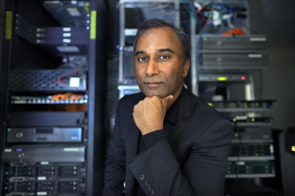 Shiva Ayyadurai, 53, holds four degrees from MIT. In 1982, he received federal copyright protection for the code he wrote for a program he called EMAIL. His skeptics say that e-mail as we know it had already been used by scientists.