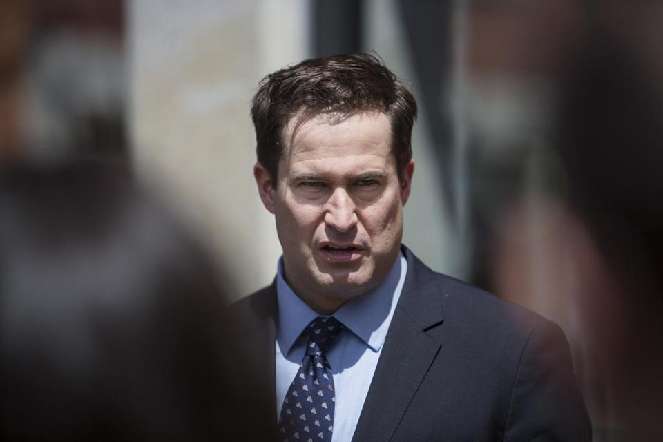 US Representative Seth Moulton.