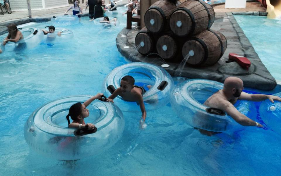 Some options for activities on the Cape in the winter include the Cape Codder Resort's water park.